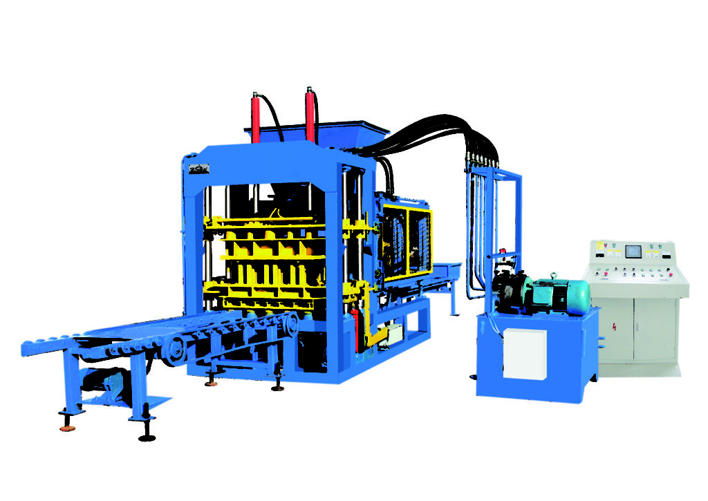 QT6-15B concrete block machine for sale
