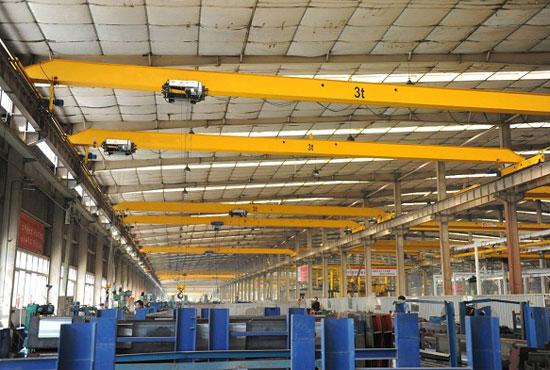 Overhead Crane With Remote Control