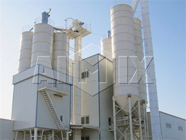 full  automatic dry mix mortar production line