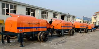 trailer concrete pumps for sale