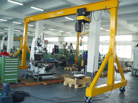 common garage gantry crane