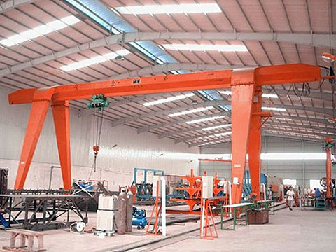 single girder garage gantry crane for sale