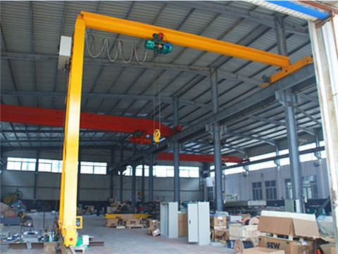 standard semi garage gantry crane supplier