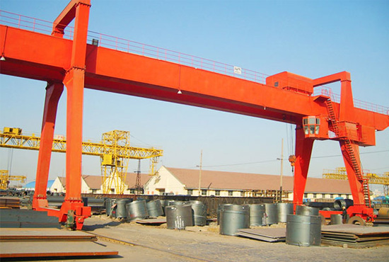 Double Girder Gantry Crane 100t